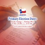 Primary Election Dates